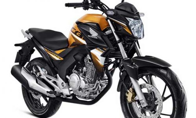 Honda CB250 Twister 2020 ABS Pearly Yellow