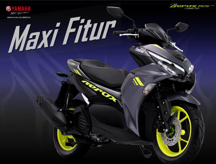 Desain All New Aerox 155 Connected